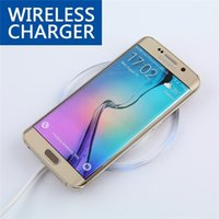 Wholesale Nexus Crystal - QI Wireless Charger Charging Pad Fantasy High Efficiency Blue Light Crystal For Elephone P9000 Samsung S7 S6 Edge Google Nexus 6