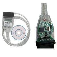 Wholesale Toyota J2534 Cable - Latest version V10.30.029 MINI VCI Interface FOR TOYOTA TIS Techstream minivci FT232RL Chip J2534 OBDII OBD2 diagnostic tool