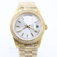 Wholesale Luxury R Watches - 7 styles 36mm ladies luxury brand diamonds watches gold automatic self winding womens watch sapphire glass aaa quality R wristwatches