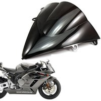 Wholesale Double Honda Cbr - Double Bubble Windscreen Black for Honda CBR 1000RR 2012-2013