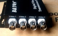 Wholesale Digital Video Transceiver - 4-channel Digital Video Optical Transceiver 1-4 channel video comes with 1-channel reverse RS485 data fiber converter FC 20KM