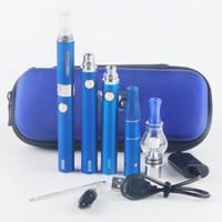 Wholesale Wax Dome Vaporizer Pen - Vape 3 in 1 Vaporizer Starter Kit for Vapor MT3 Oil Ago Dry Herb Glass Globe Wax Dome Evod Batteries Vape Pen