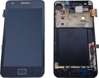 Wholesale S2 Frame - DISPLAY LCD TOUCH PER SAMSUNG GALAXY S2 PLUS GT-I9105P BLU FRAME