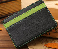 Wholesale Patchwork Japanese Bag - The new unique casual style wallet popular Japanese and Korean fashion simple magic color magic bag purse