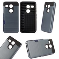 LG V10 Armor caso Neo híbrido escovado para iPhone6s mais Samsung Galaxy s7 borda s6edge mais s6 LG Nexus 5X TPU PC Cover