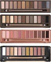Wholesale Eyeshadow Smoked - The new beauty 12 color eyeshadow Palette Makeup Smoked eye shadow Waterproof on the makeup eye shadow