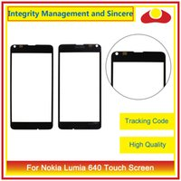 Wholesale Xl Digitizer - High Quality For Nokia Lumia 640 640XL 640 XL 650 730 735 N735 Front Outer Glass Lens Touch Screen Panel Digitizer