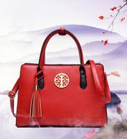 Wholesale Synthetic Female Chinese - Fashion new women's autumn and winter shoulder bag   Messenger bag   handbag   female bag