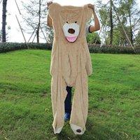 yarı mamul oyuncaklar toptan satış-Peluş Oyuncaklar Yarı Mamul Ürünler Teddy Bear Bear Skins 2 Metre Cilt Sevimli Peluş Bearskin