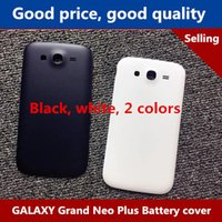 Wholesale Back Cover Grand - High quality Samsung GALAXY Grand Neo Plus I9082c phone back cover i9060 battery back cover 9168i i9082 l9118 phone shell