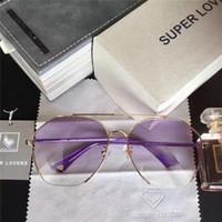 Wholesale Super Sunglasses High Fashion - Super Lovers SL 052 High Quality Brand Designer Sunglasses Fashion Women Brand Designer Glasses Retro Style UV Protection With Original Box
