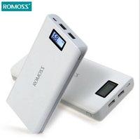 Wholesale Tablet External Battery Pack - Original 20000mAh ROMOSS Sense 6 Portable Charger External Battery Pack Power Bank Fast Charging for Mobile Phones Tablet PCs