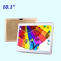 phablet octa core 3g großhandel-Telefon Tablet PC MTK6580 Quad Core 10,1