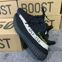Wholesale Mens Sneaker Wholesale - ORIGINALS Y BOOST 350 V2 KANYE WEST CORE Cblack Cwhite Oreo NOIESS NLAESS BY1604 RUNNING SHOES MENS SNEAKERS SPORTS SHOES FOR MEN SIZE13