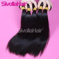 Wholesale Cheap Light Brown Weave - Enough length and weight ,double machine weaving cheap Natural Human Hair brazilian straight hair