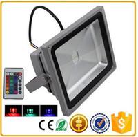 führte im freienbeleuchtung rgb dmx großhandel-RGB-LED-Scheinwerfer IP65 wasserdicht dmx Outdoor-Landschaftsbeleuchtung 10w / 20w / 30w / 50w / 100w / 150w / 150w / 200w Scheinwerfer AC85-265V