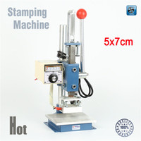 Wholesale Leather Embossing Machines - 57 Manual Stamping Machine,leather printer,Creasing machine,hot foil stamping machine,marking press,embossing machine(5x7cm)