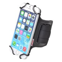 Wholesale 4.7 inch cell phone for sale - Group buy TFY Open face Sport Armband Key Holder for Inch to Inch Cell Phone for iPhone7 Plus Open face Design Black Grey Camo Red