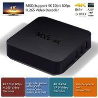 8GB os media player - Smart Rockchip RK3229 MXQ k TV Box Android OS H K tps P UHD Smart Tv Streaming Media Player TV Boxes Remoted MXQ
