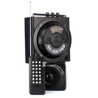 jagd mp3 kontrolle großhandel-1500 Meter drahtlose Fernsteuerungsaußenjagd-Jagd-Vogel-Lockvogel-Anrufer-MP3-Player-Doppelminilautsprecher 888 PC-Blockiervögel-Ton-Ausrüstung
