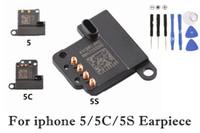 4g lautsprecher großhandel-Hörmuschel-Ohr-Stück-Ton-Sprecher-hörende Ersatzteile für Apple iPhone 4G 4S 5G 5C 5S 10pcs Los geben Verschiffen frei