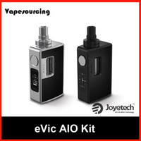 Authentique Joyetech Evic Aio Kit de cigarette Ee Full 75TC Box Mod avec vaporisateur ECIG 3.5ml BF SS316 0.5ohm DL bobines
