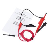 Wholesale Benchtop Tools - High Voltage Oscilloscope Probe P2500C 5kV 100X 500MHz Passive Clip Probe Test Tool with Detachable Tip Oscilloscope Accessory