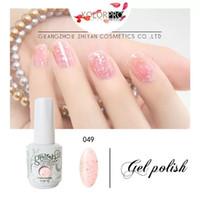 лучшие гелевые краски для ногтей оптовых-Гель-лак для ногтей высочайшего качества 15 мл 441 цветов лучше всего подходит для ногтей.