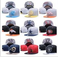 Wholesale Popular Football - 2017 new Football Snapbacks Cheap Sports Team Caps High Quality Cheap Snap Backs women and men Hats Most Popular Sports Team Flat Hats