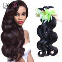 Wholesale Soft Wave Brazilian Hair Weave - Brazilian Virgin Hair Weaves Body Wave Unprocessed Peruvian Malaysian Indian Cambodian Remy Human Hair Extensions Bundles Soft FULL Dyeable