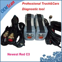 Wholesale Truck Diagnosis Tool - Wholesale-2016 Auto Diagnostic Tool Red STAR C3 For Trucks and Cars Star Diagnosis C3 with 2016.07 Software [Xentry Key Generator As Gift]
