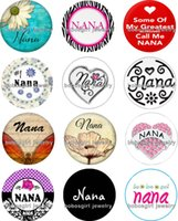 Wholesale Nana Pink - Free shipping NANA Snap button Jewelry Charm Popper for Snap Jewelry good quality 12pcs   lot Gl213 jewelry making DIY