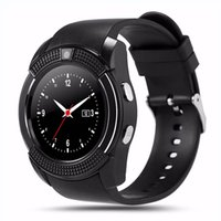 V8 Smartwatch Bluetooth intelligente Uhr mit Kamera SIM TF Karte 8 Farben für iPhone Android Handy