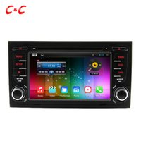 Wholesale Audi Navi - 1024X600 Quad Core Android 5.1.1 Car DVD Player for Audi A4 with Radio GPS Navi Wifi DVR Mirror Link SWC+Free Gifts