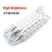 Wholesale High Led Module - High Quality ABS Injection Waterproof LED Module Light SMD 5630 5730 5LED DC12V LED Light Module Back Light 85mm*17mm*6mm