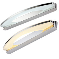 Wholesale Bathroom Mirror Light Fixtures - Free shipping 8W 10W 15W mirror light Modern makeup dressing room bathroom led mirror light fixtures home decoration lighting