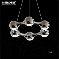 Wholesale 6 Rings LED Pendent Light Modern Circle suspension light fixture for Dining Room Bedroom Hot Selling and pendents