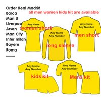 Wholesale Cheap Kids Sweater - 20161718 Cheap Men soccer uniforms kids woman football uniforms tracksuits sweater Linda Jersey shirts Customers Order Link