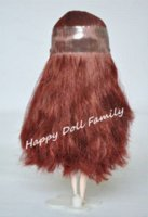 "Wholesale Nude Ship Girls - 12"" nude Blyth doll,brown red long hair, beautiful girl, shipping free girl short hair girl long hair"