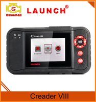 Wholesale Launch Engine Scanner - Launch creader VIII creader 8 diagnostic scanner code reader (same as Launch CRP129) update online obd ii scanner