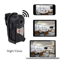Wholesale Iphone Detection - Mini P2P WiFi IP Camera HD Security DVR Nanny Camera Video Recorder Indoor   Outdoor Motion Detection Security Support iPhone Android Q7