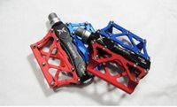 Wholesale Quick Release Pedals - Bike Pedal 2016 NEW MTB   Folding   Dead Fly Double color Aluminium Alloy Pedals Peilin Bearing Pedal Ultralight Quick Release Pedals