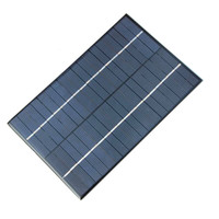Wholesale Small Solar Panel System - New 4.2W 18V Small Solar Panel Polycrystalline Silicon Solar Cells Module DIY Solar Power System For 12V Battery 130*200MM FreeShipping