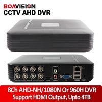 Wholesale H 264 Cctv Dvr Recorder - H.264 8Ch 960P 720P Recorder Recording AHD-NH 1080N Or 960H (Analog) CCTV AHD DVR Support Multi language Upto 4TB Digital Video Recorder