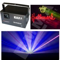 Wholesale Cheap Stage Lasers - 2016 Cheap Price 3W RGB Laser Light 90V-240V High Quality Full Color RGB Laser Effect Light 3Watt RGB Animation Laser Light
