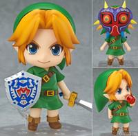 Wholesale Zelda Pvc Figure - Hot ! NEW 10cm Legend of Zelda Link Majoras Mask FIGURE ONLY Limited-Edition action figure toy Christmas gift with Original box