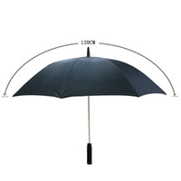 """Wholesale Black Electric Fan - New Creative Long Handle Umbrella With Rechargeable Fan Cooling an electric fan Black 23"""""""