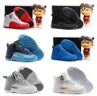 Wholesale Shop Cheap Kids Shoes - Drop Shopping New Fashion J12 Retro Kids Basketball Shoes Top Quanlity Shoes Sale Cheap Price,Famous Trainers Shoes Sneakers Boots