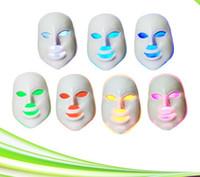 Wholesale Light Whitening System - 7 colors portable pdt led face care whitening led face mask led light therapy mask system for rejuvenation