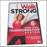 Wholesale Disc System - 2016 NEW DVDs Walk Strong: 6 Week Total Transformation System Workout Fitness 4 Disc